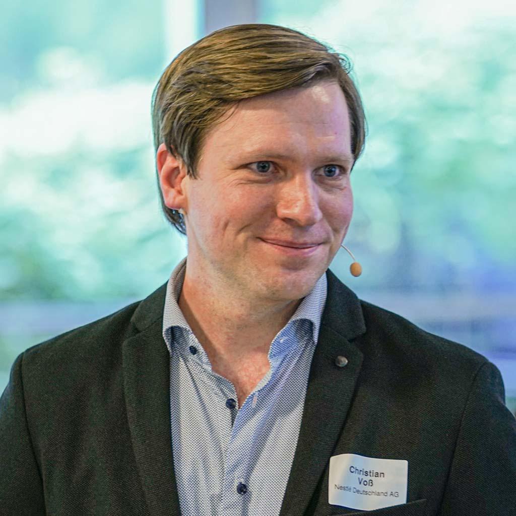Christian Voß, Nestlé