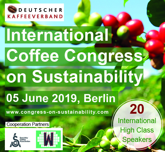 International Coffee Congress on Sustainability (05. Juni 2019, Berlin)