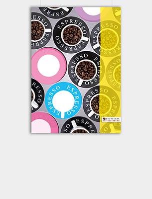 """Bild zu Poster: """"Kaffee-Kunst"""" - Espresso PopArt"""
