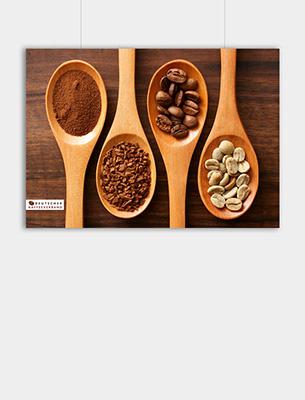 """Bild zu Poster: """"Verarbeitung"""" - Verarbeiteter Kaffee"""
