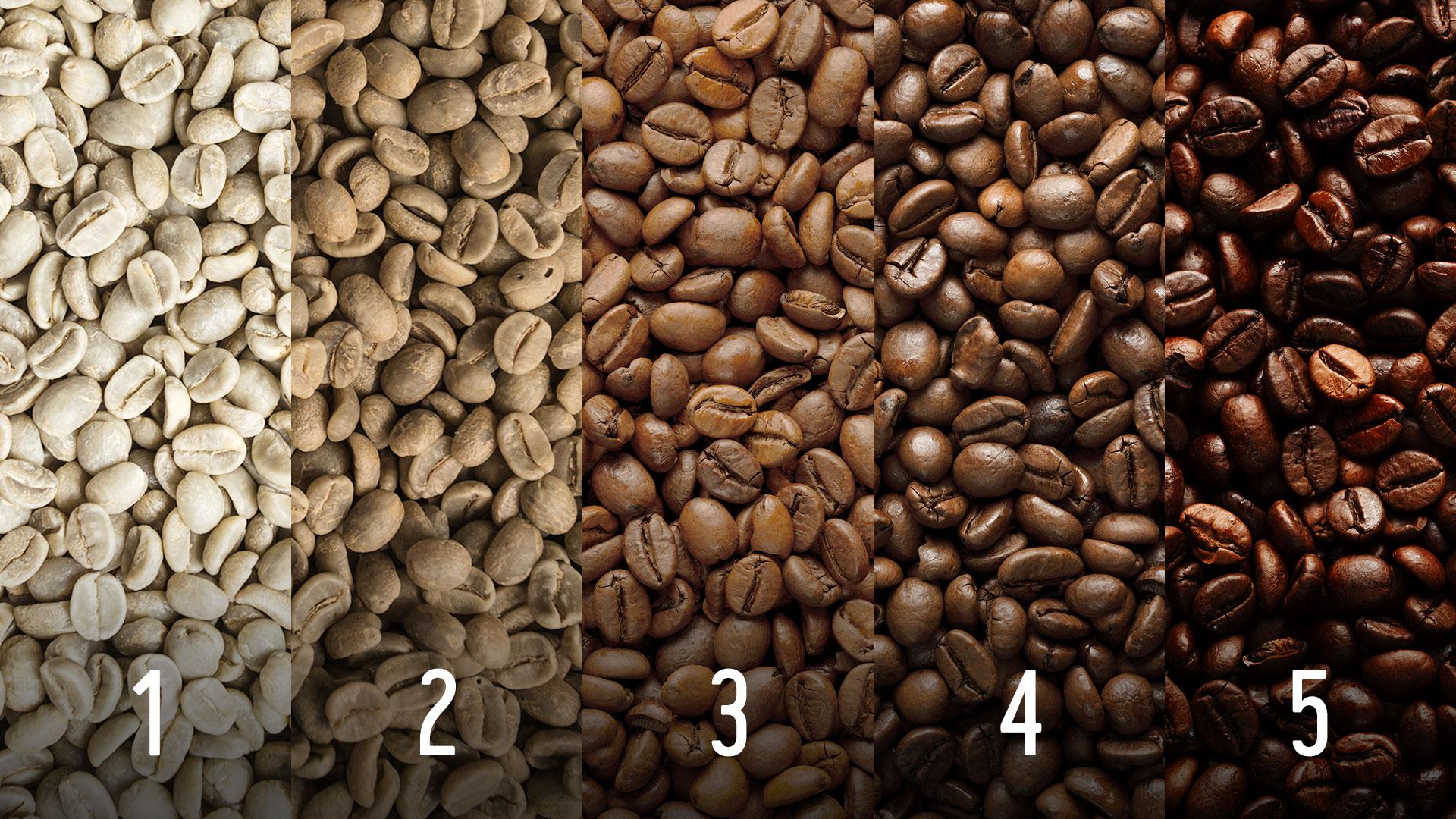röstung kaffeebohnen